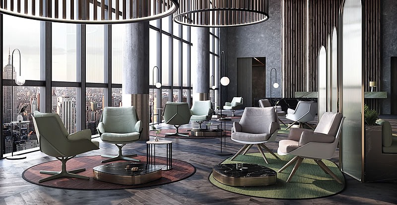 Indecasa Lounge Chair Anou